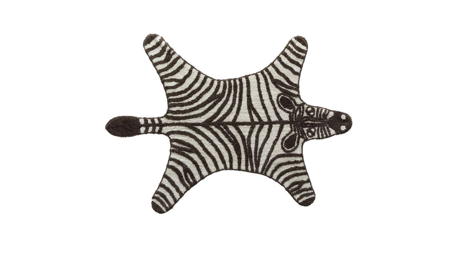 LIFETIME Teppiche Wild Life mit Zebra Motiv