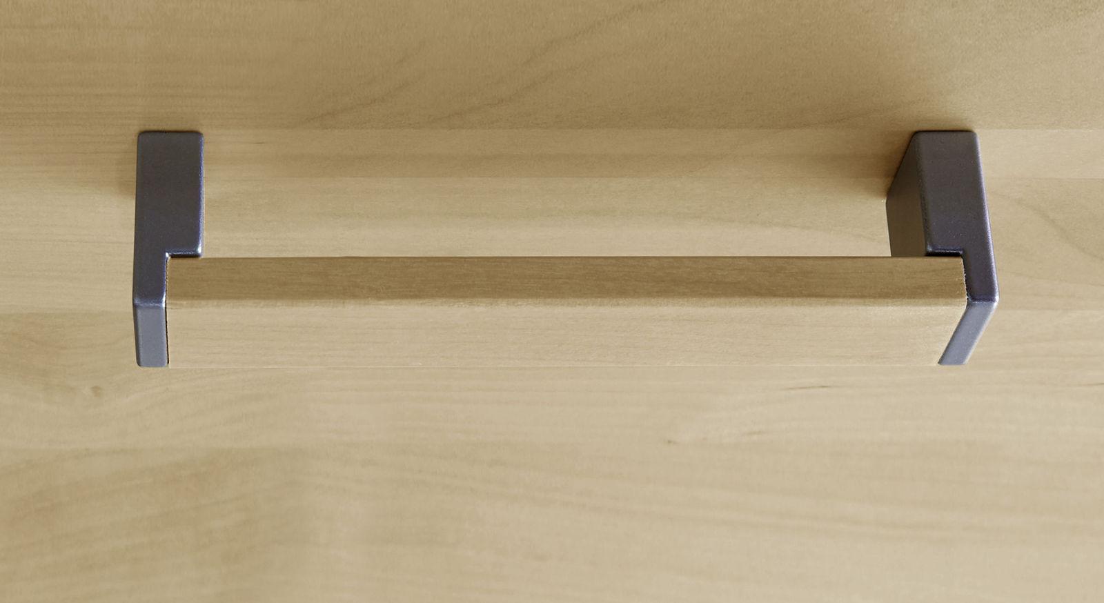 Massive Holzgriffe für Möbel in Birke natur