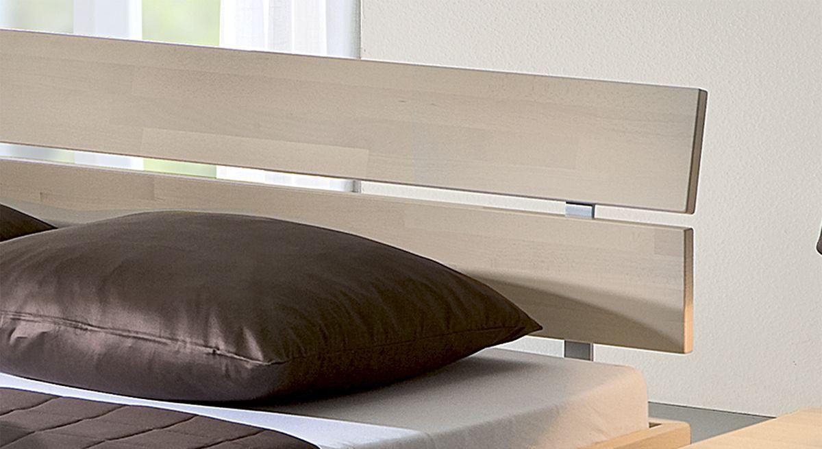 Holz-Kopfteil des Bettes Sogno