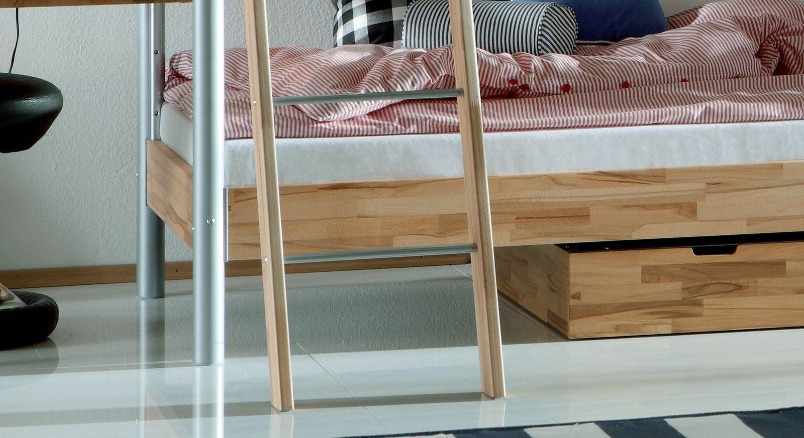 Midi-Etagenbett Lorena mit zusätzlichem Schlafplatz