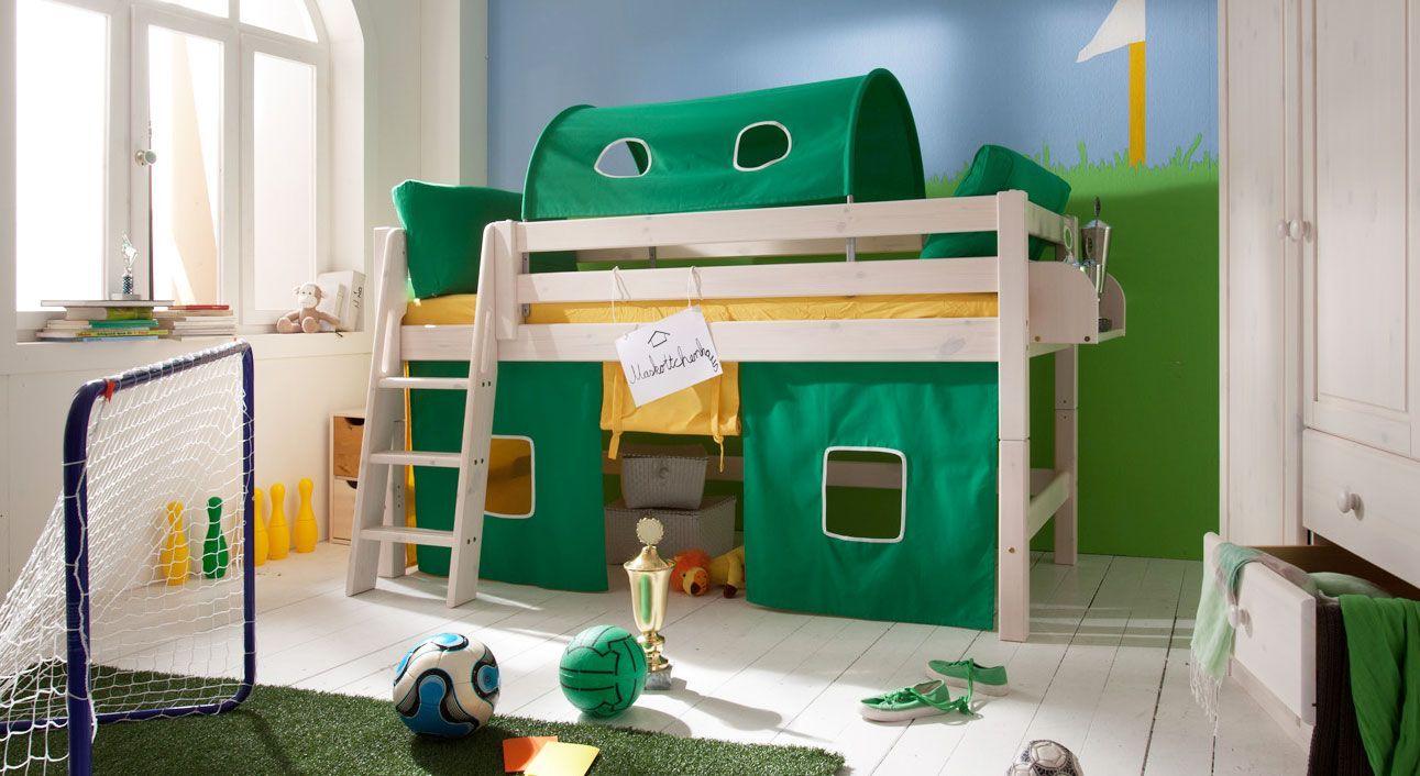 Mini-Hochbett Kids Paradise Gruen