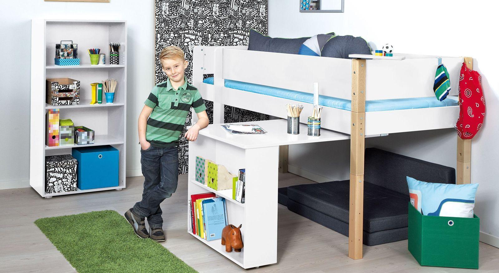 Passende Produkte zum Mini-Hochbett Kids Town mit Auszieh-Schreibtisch