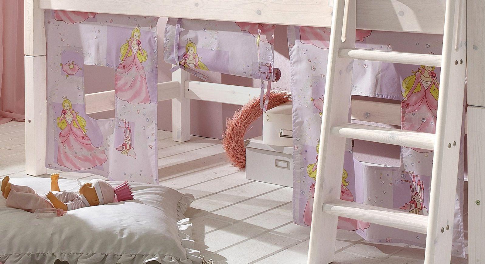Prinzessinnen Etagenbett : Kinder hochbett prinzessin günstig kaufen betten.de