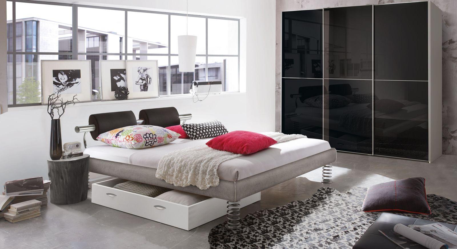 Jugendliches Schlafzimmer komplett in Beton-Optik - Elastic