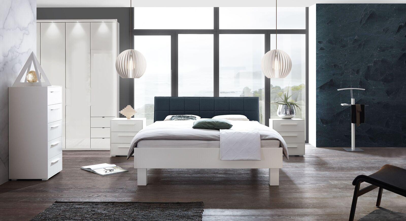 Modernes Schlafzimmer Linnea in Weiß