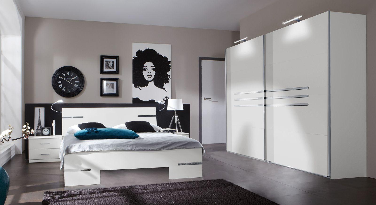 Zeitlose Möbelreihe Manati aus alpinweißem Dekor
