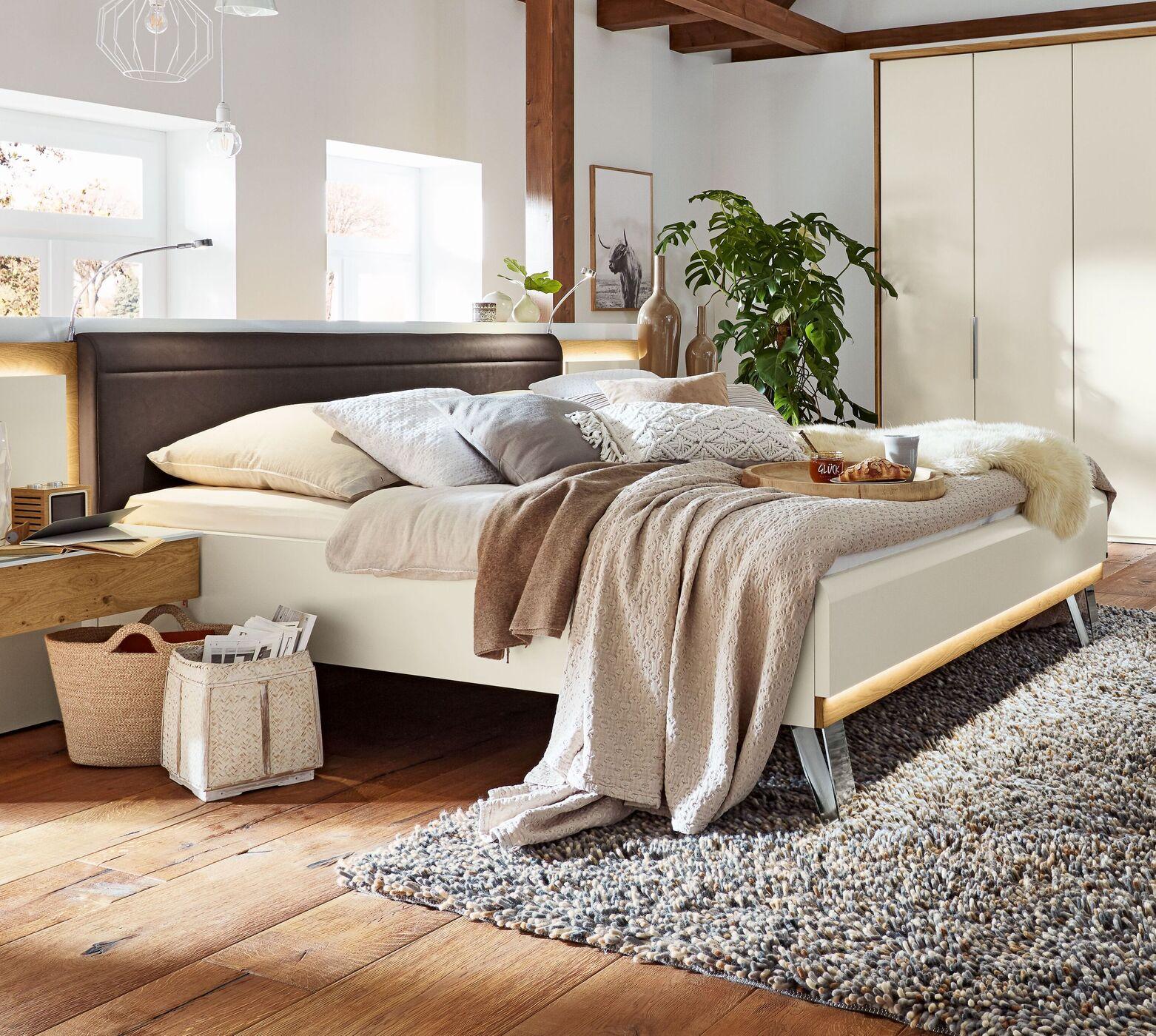 """MUSTERRING Schlafzimmer """"Saphira"""" 15-tlg. in Weiß"""