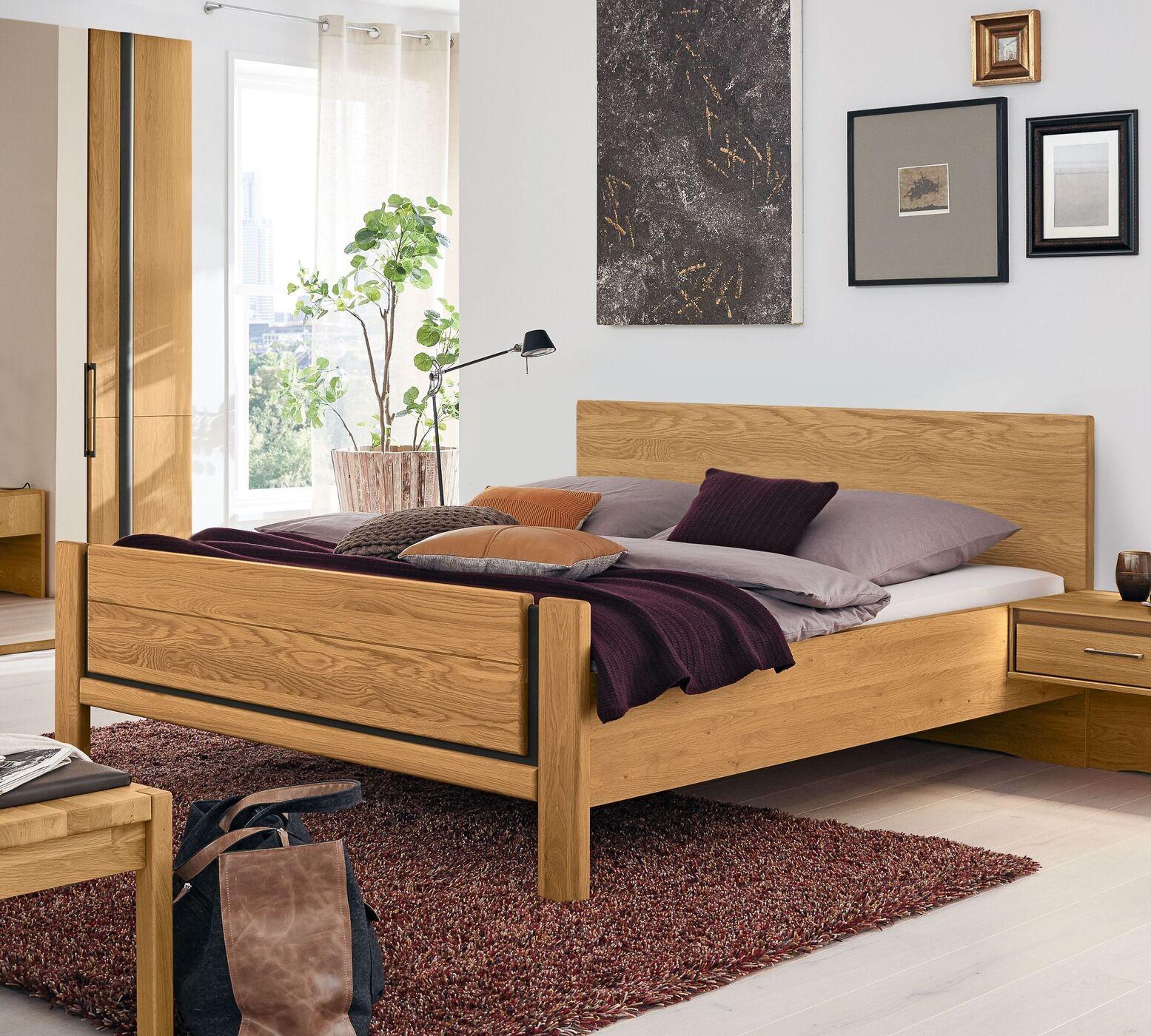 Musterring Eiche Schlafzimmer Sorrent 4 Tlg Mit Faltturenschrank
