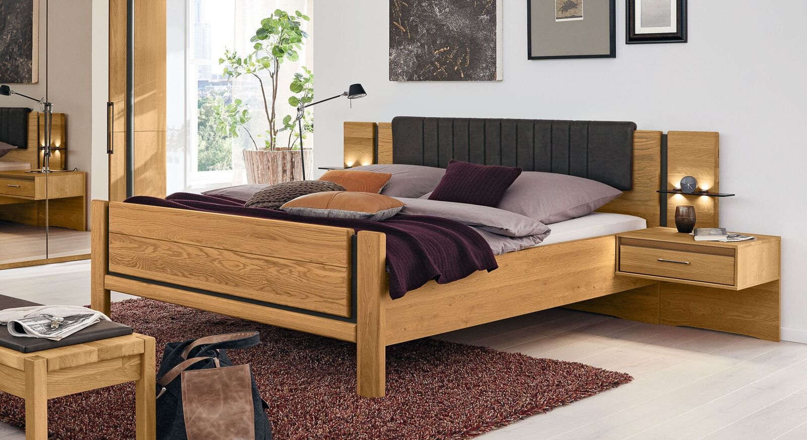MUSTERRING Bett Sorrent mit hochwertigem Zubehör