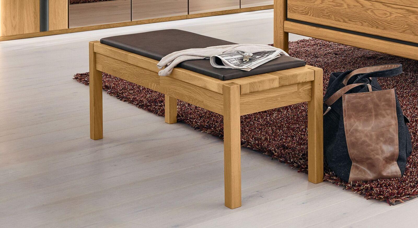 MUSTERRING Bettbank Sorrent inklusive Sitzkissen