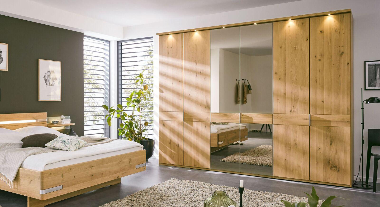 MUSTERRING Drehtüren-Kleiderschrank Savona 2.0 mit Spiegel