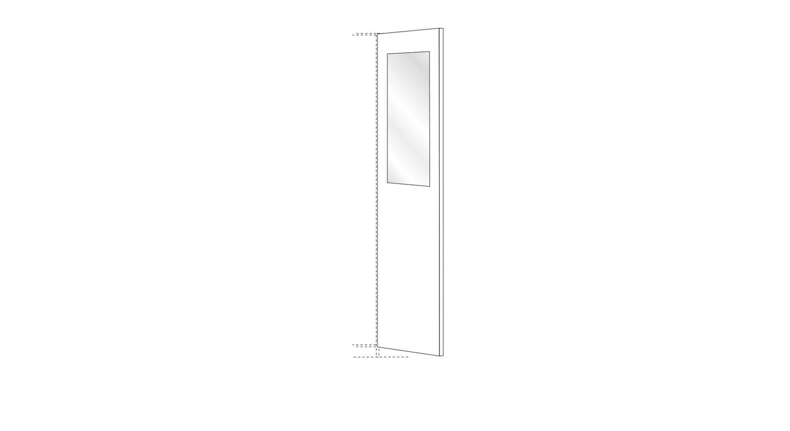MUSTERRING Innenausstattung Kleiderschrank Innenspiegel 80 cm