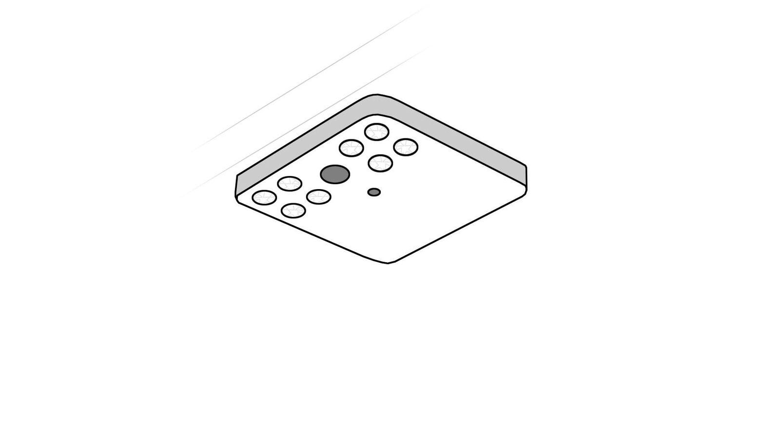 MUSTERRING LED-Leuchte mit Bewegungsmelder als Innenausstattung für Kleiderschrank