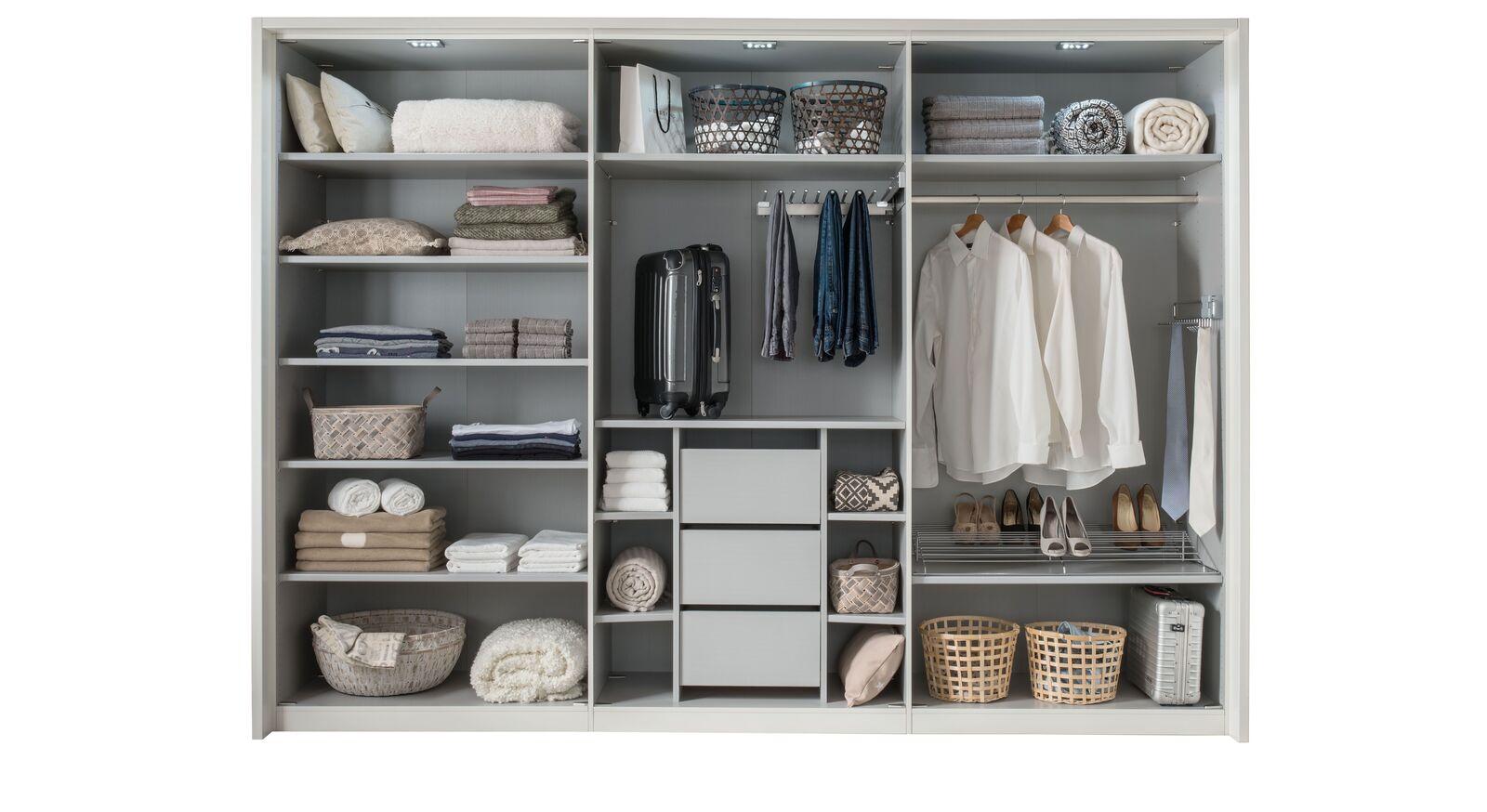 MUSTERRING Innenausstattung für Kleiderschränke zur praktischen Unterteilung