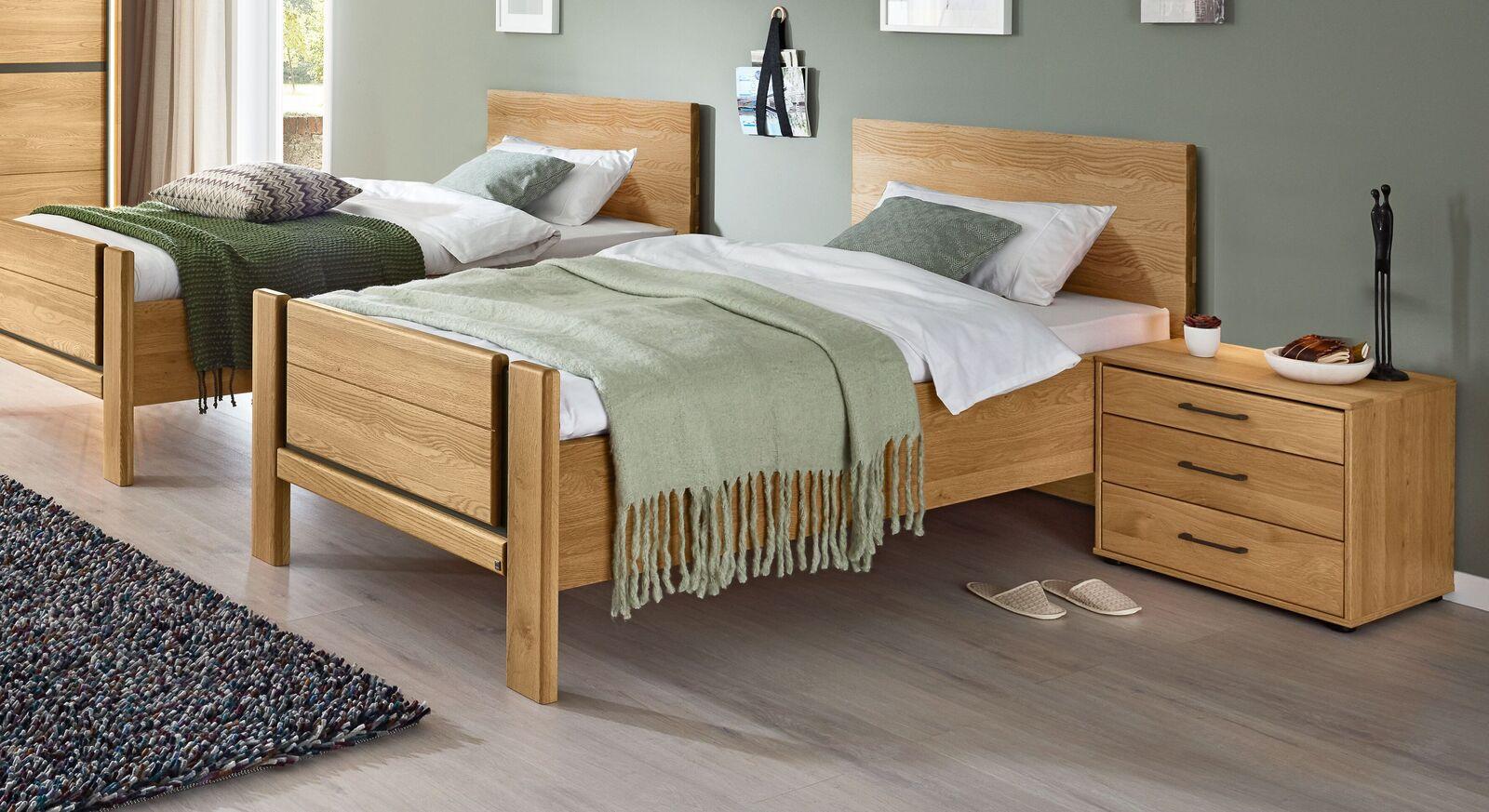 MUSTERRING Komfort-Einzelbett Sorrent mit Kopf- und Fußteil