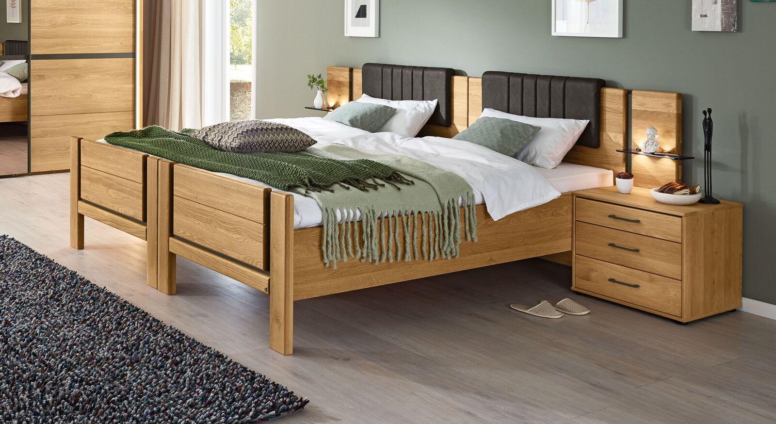 MUSTERRING Komfort Einzelbetten Sorrent mit Verbindungs-Beschlag