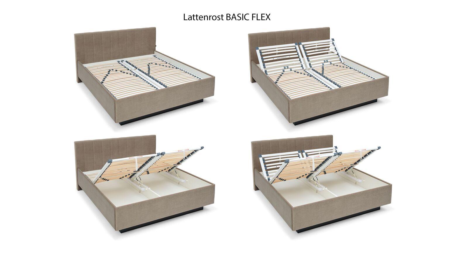 MUSTERRING Lattenrost Basic Flex mit praktischer Verstellung