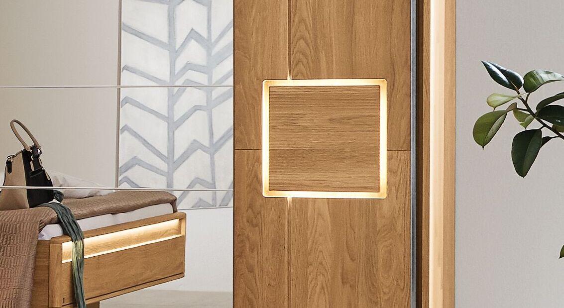 Musterring LED-Beleuchtungsset Samoa für Schwebetüren-Kleiderschränke