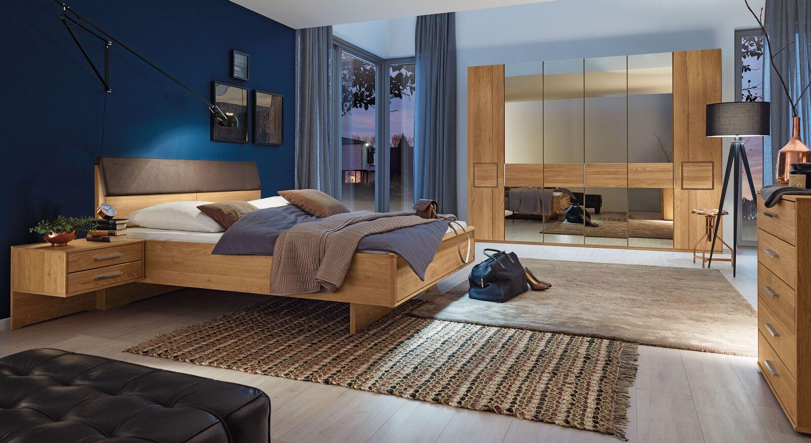 MUSTERRING Schlafzimmer Samoa mit Drehtürenschrank in stilvoller Optik