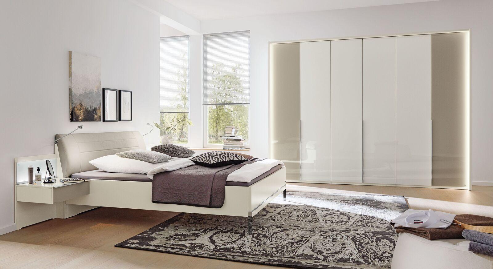 MUSTERRING Schlafzimmer San Diego Weiß mit abgestimmten Möbeln