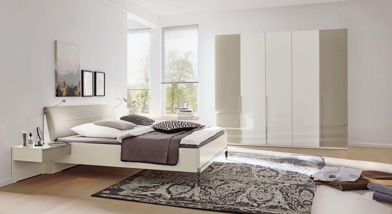MUSTERRING Schlafzimmer San Diego Weiß mit ausgewählten Möbelstücken