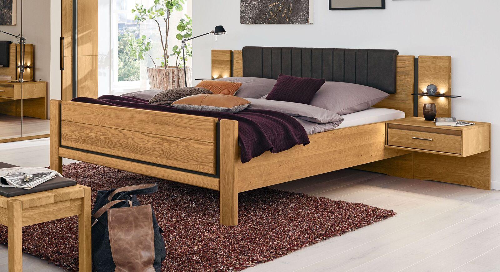 MUSTERRING Schlafzimmer Sorrent 4-tlg. mit Falttüren-Kleiderschrank und Komfortbett