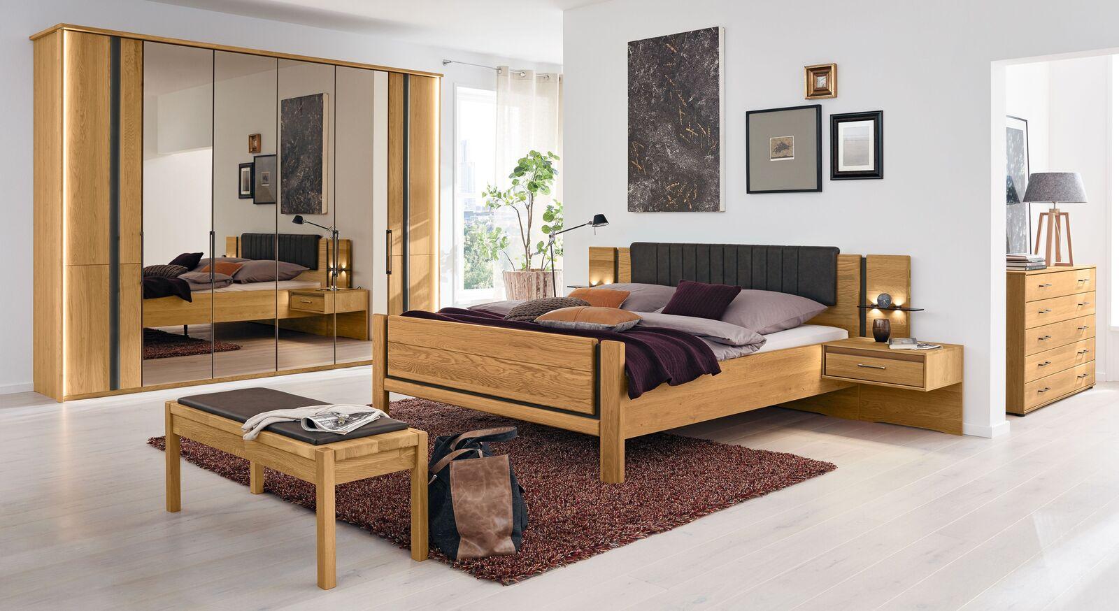 MUSTERRING Schlafzimmer Sorrent 4-tlg mit passenden Extras