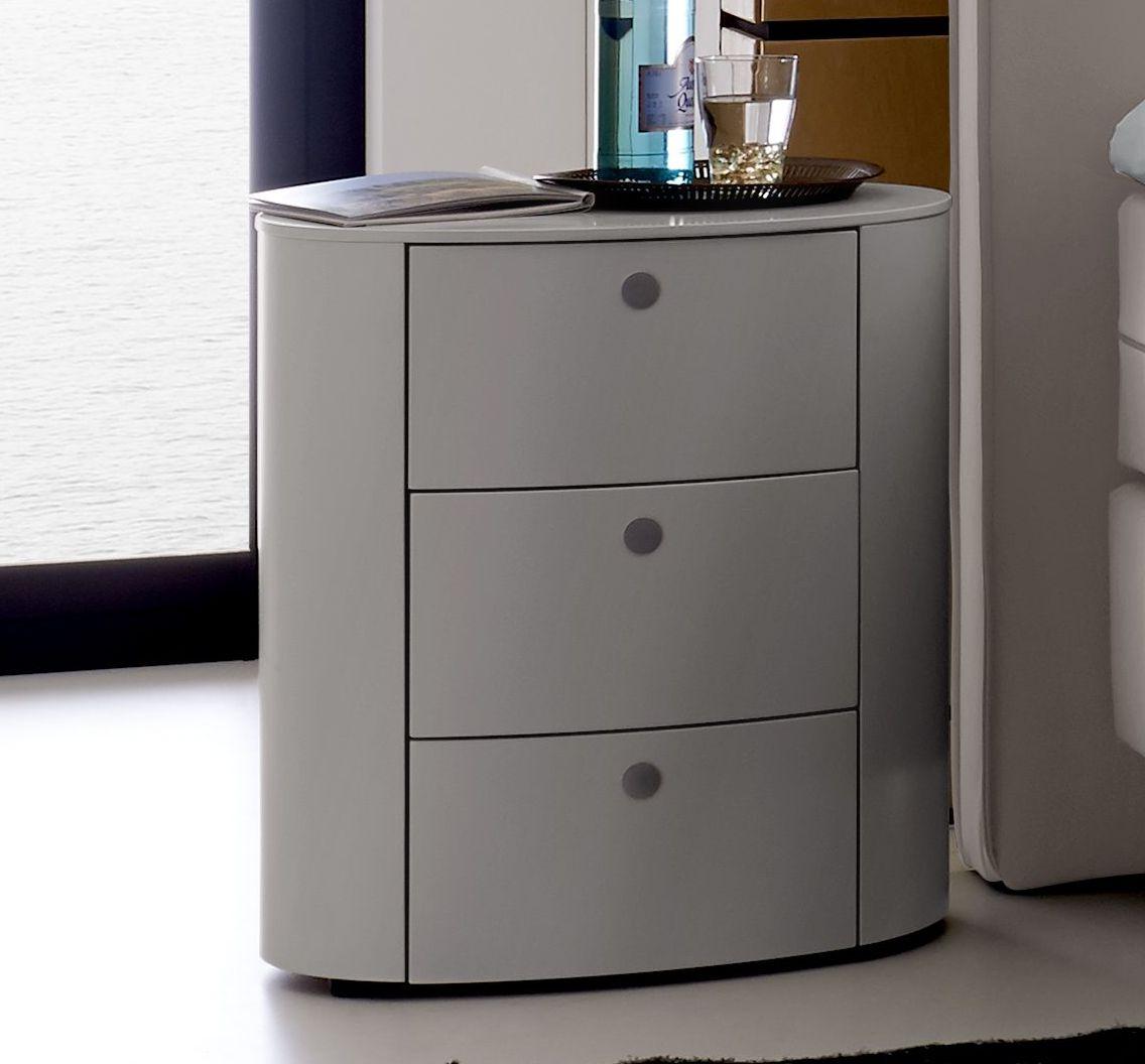ovaler schubladen nachttisch f r hohe betten avare. Black Bedroom Furniture Sets. Home Design Ideas
