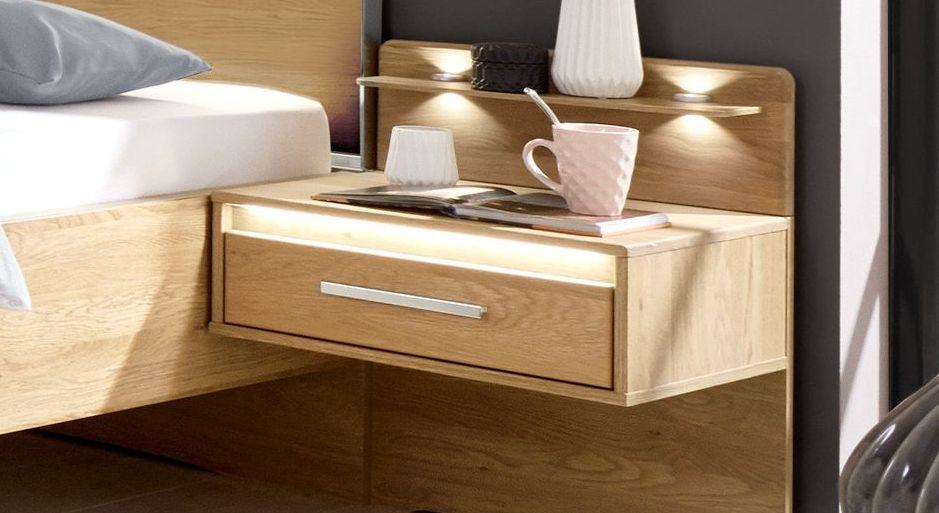 Nachttisch Chipperfield mit LED-Beleuchtung an der Schublade
