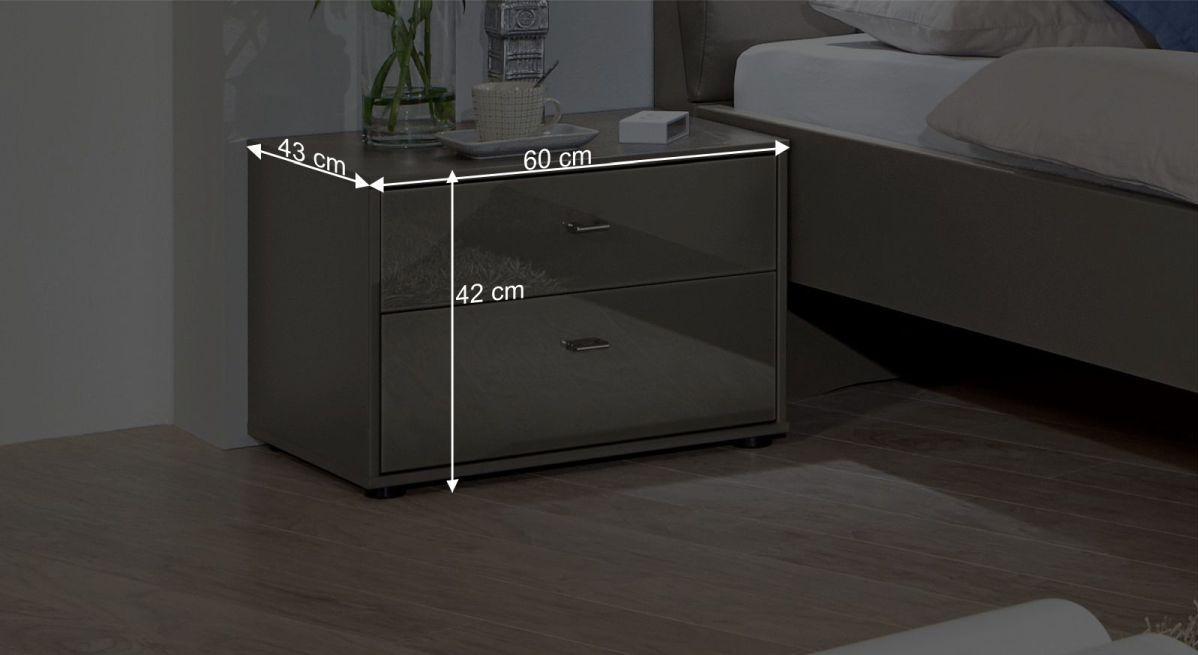 nachttisch 60 cm breit uenjoy x nachttisch kommode mit schubladen mit with nachttisch 60 cm. Black Bedroom Furniture Sets. Home Design Ideas
