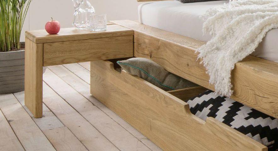 Nachttisch Doba optimal für Schubkasten-Betten