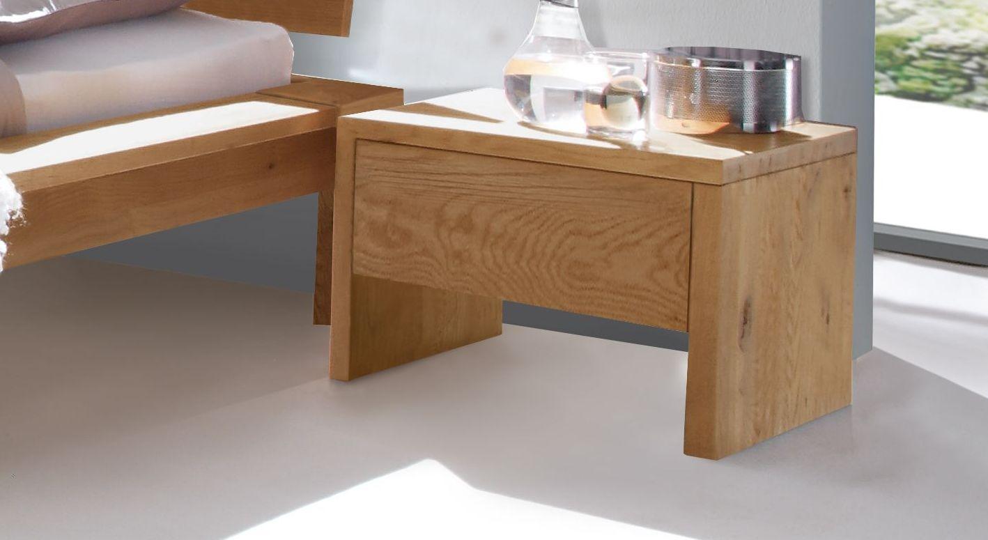 Nachttisch Evora aus geöltem Holz