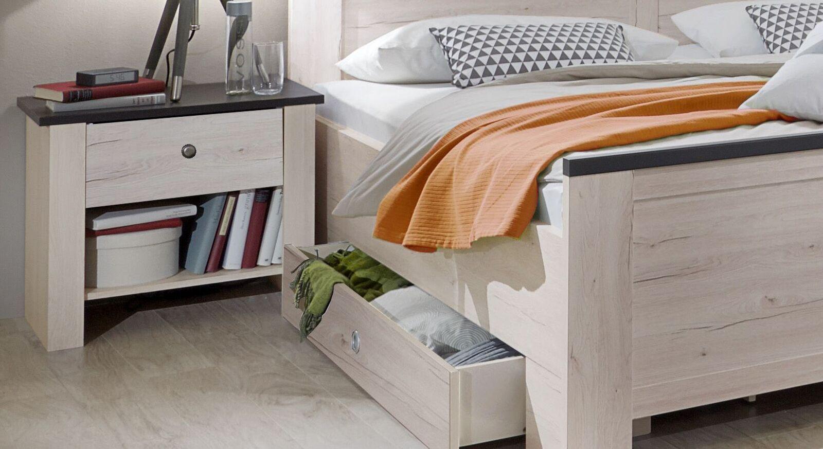 Nachttisch Grom mit Schublade und Ablageraum
