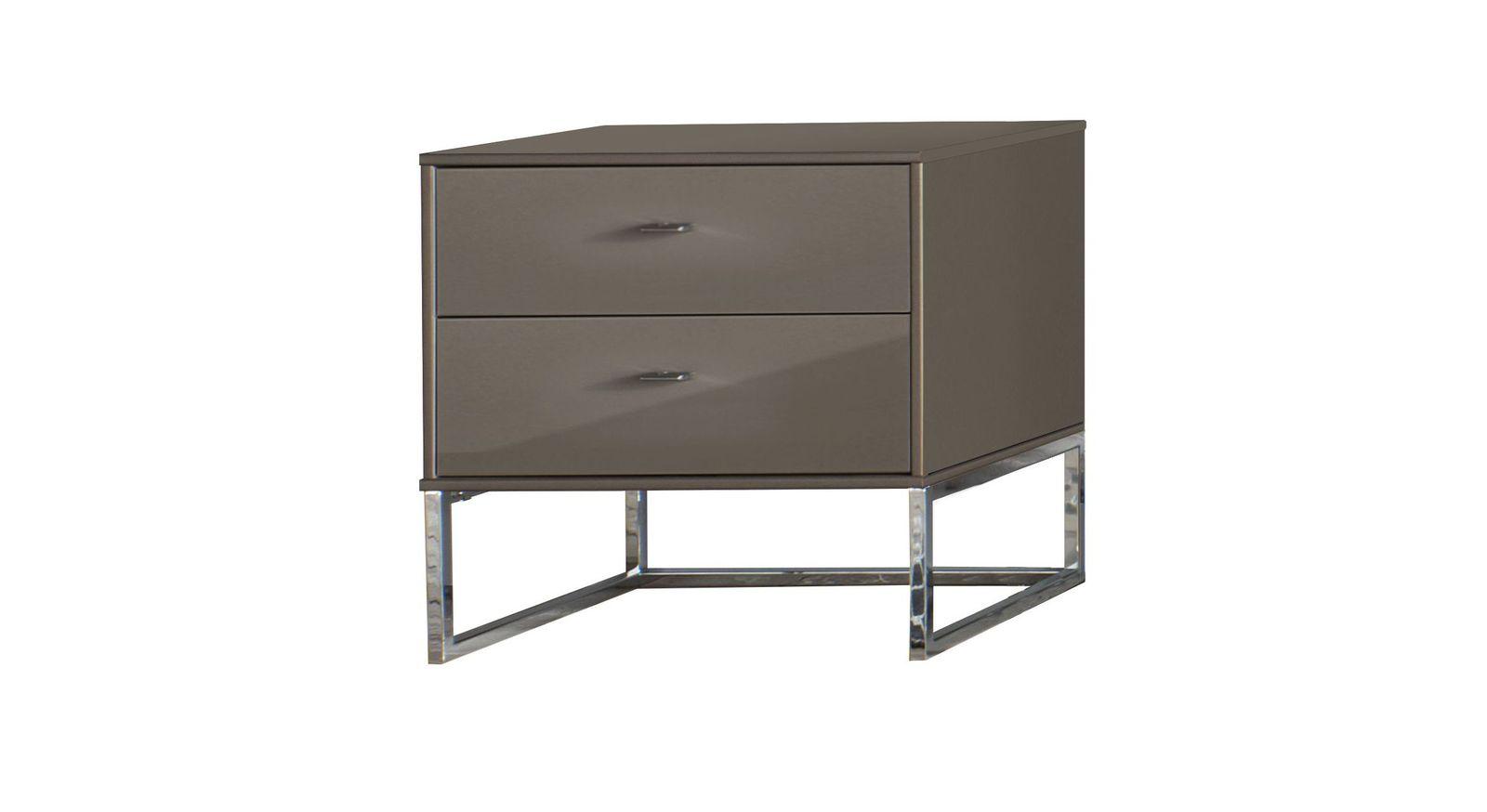 Robuster und kompakter Nachttisch Harrow