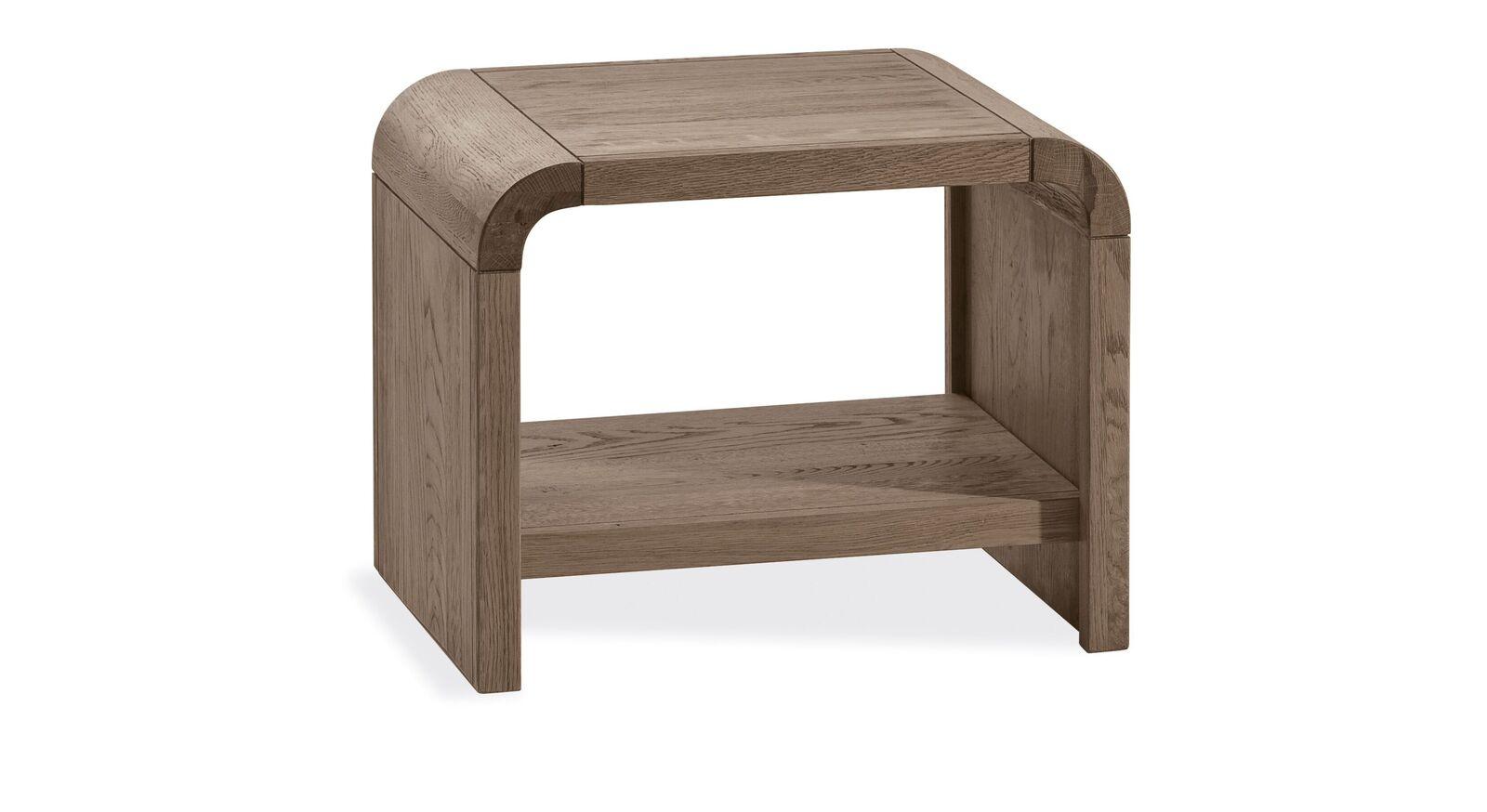 Nachttisch Ingrasso aus massivem Echtholz