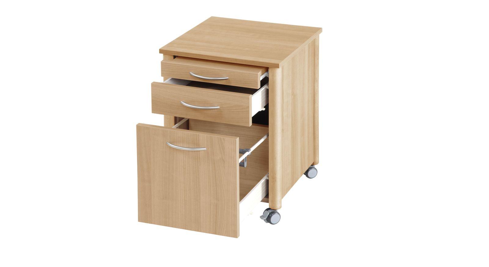 Nachttisch Isar mit leichtgängigen Schubladen-Auszügen