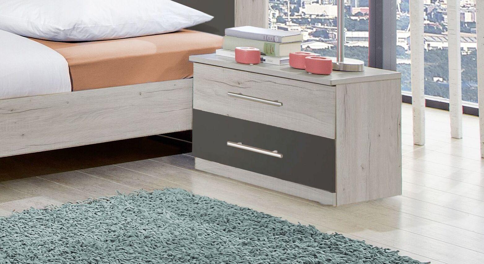 Nachttisch Kemere mit praktischen Schubladen