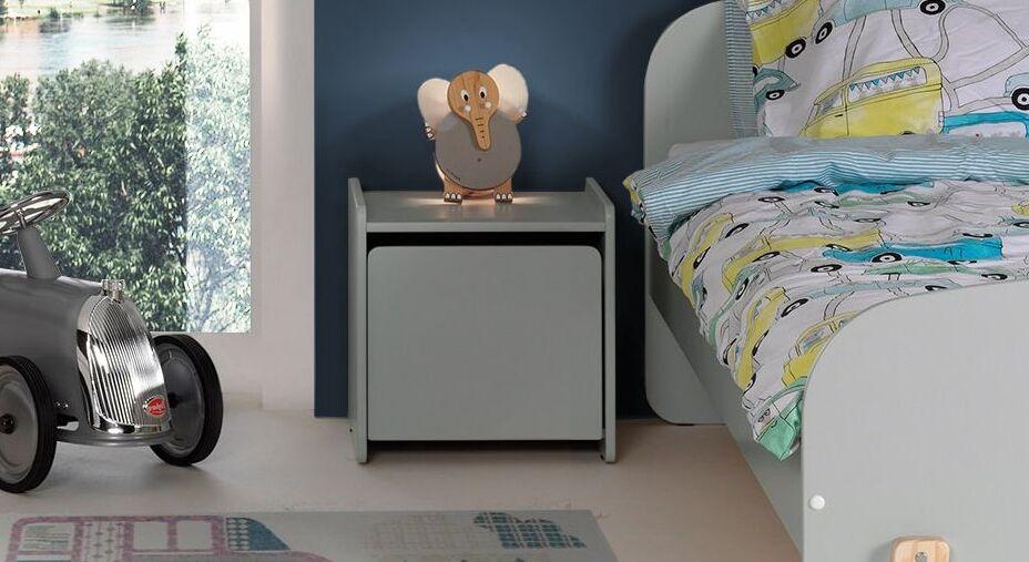 Nachttisch Maila Color mit großem Fach