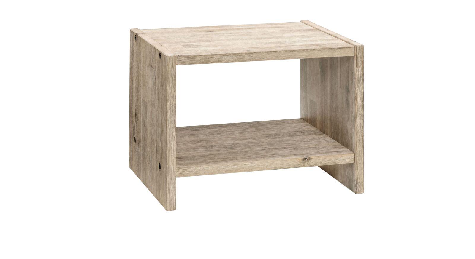 Nachttisch Onno aus massivem Akazienholz