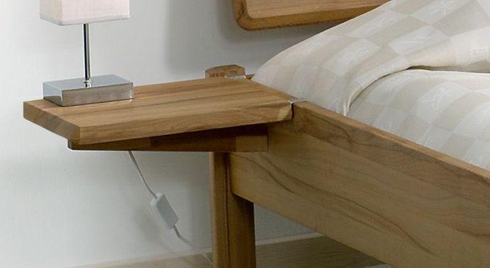 nachttisch zum einhangen pavia aus holz praktischer