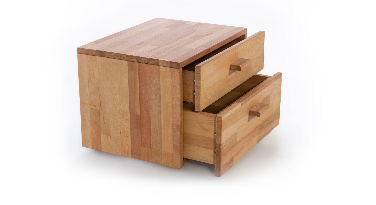 Nachttisch Tamira mit leichtgängigen Schubladen