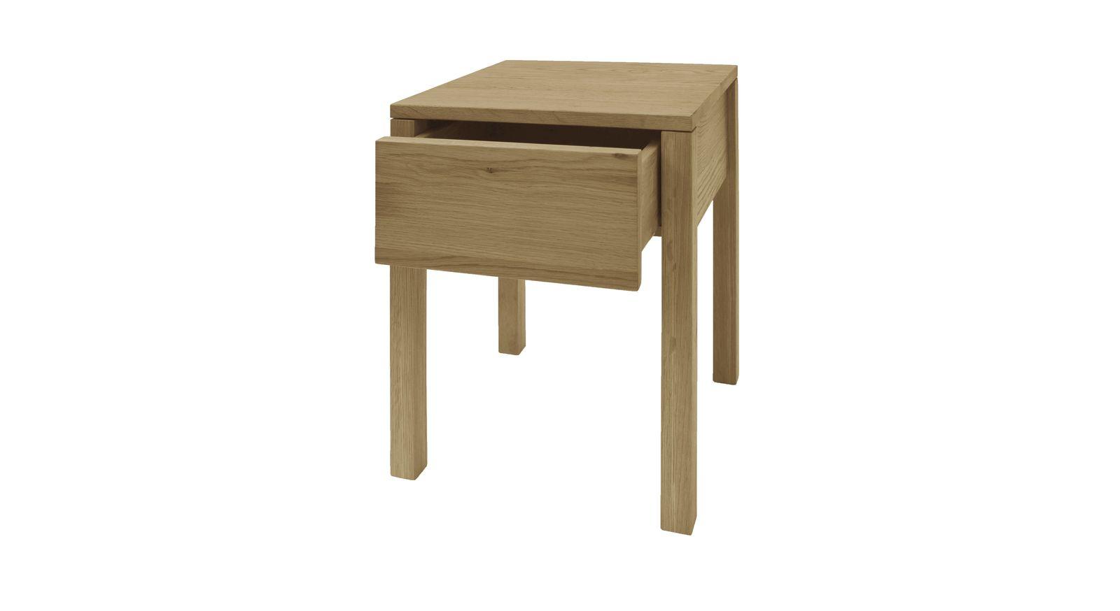 Holznachttisch Vilani mit praktischer Schublade