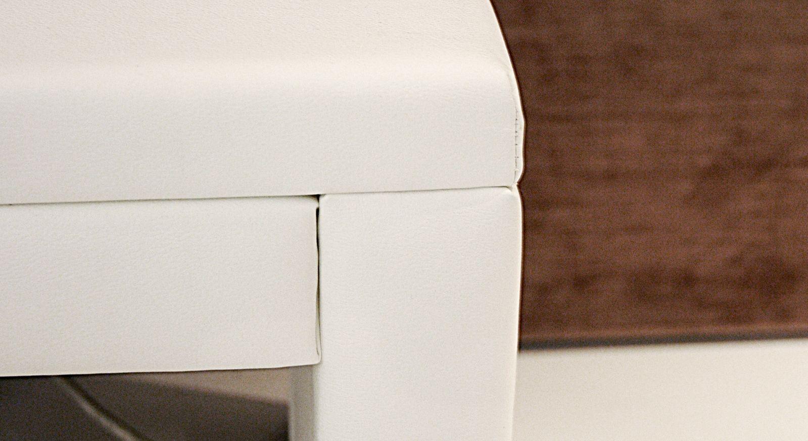 Nachttisch Shade sorgfältige Verarbeitung detailreich Eckverbindung weiß