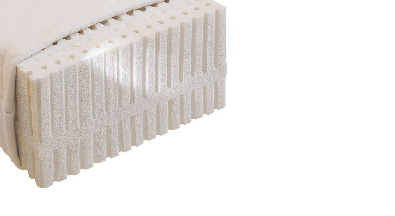 Naturlatex-Matratze SAMAR comfort belastbar bis 90kg