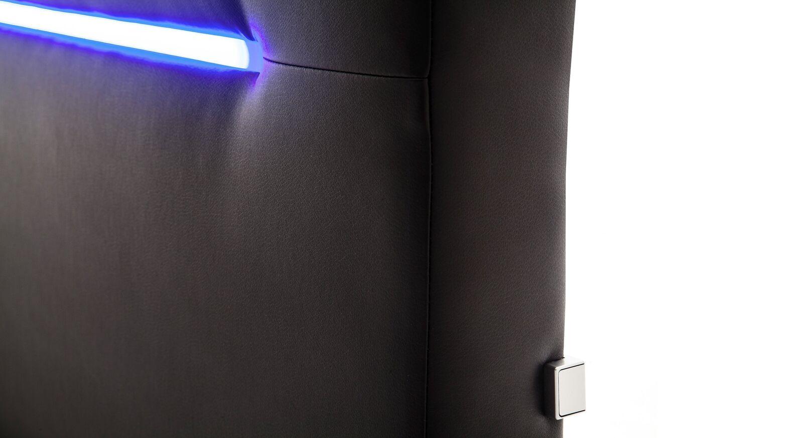 Kleiner Schalter der Polsterbetten mit Beleuchtung