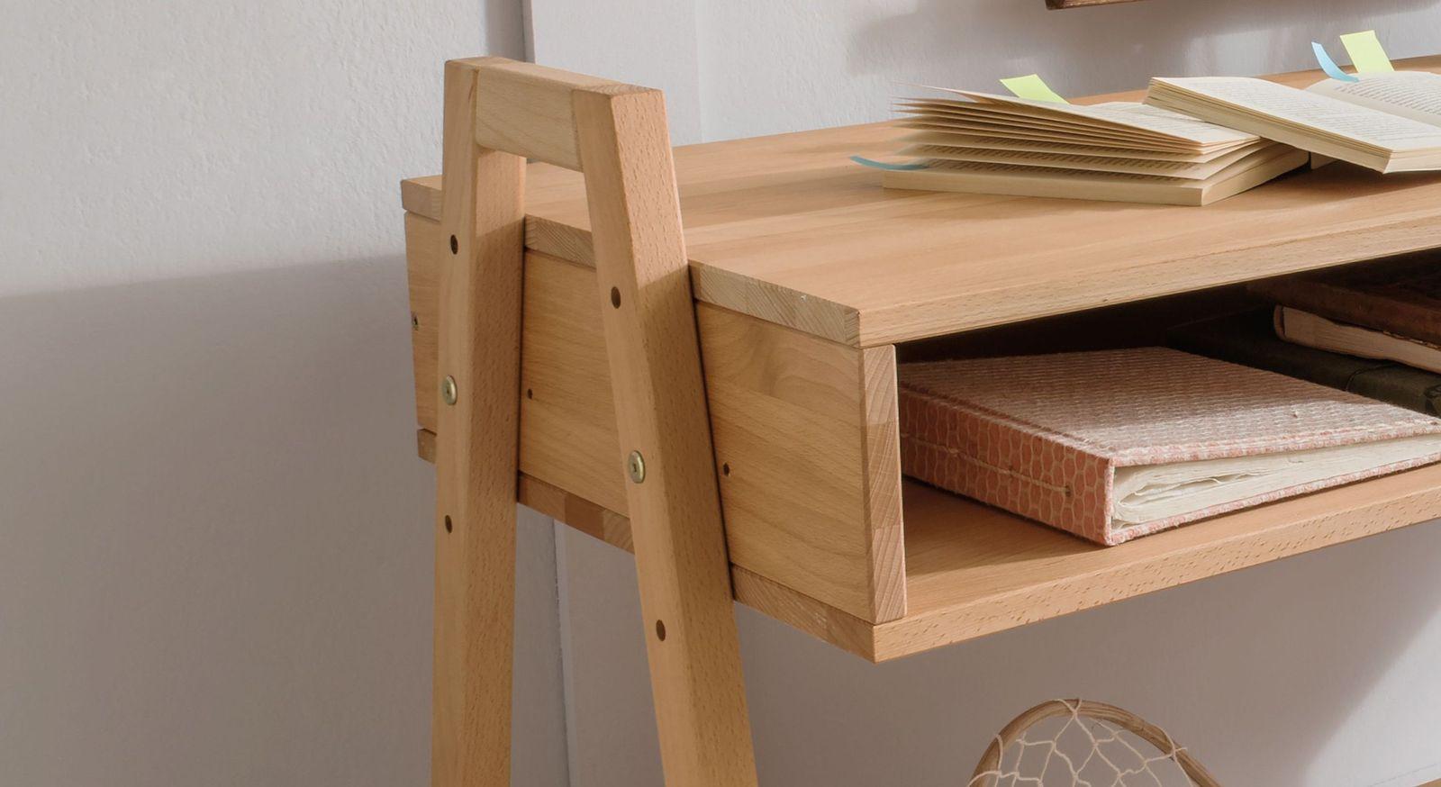 Retro-Schreibtisch Kids Fantasy höhenverstellbar mit 3-facher Verstelung