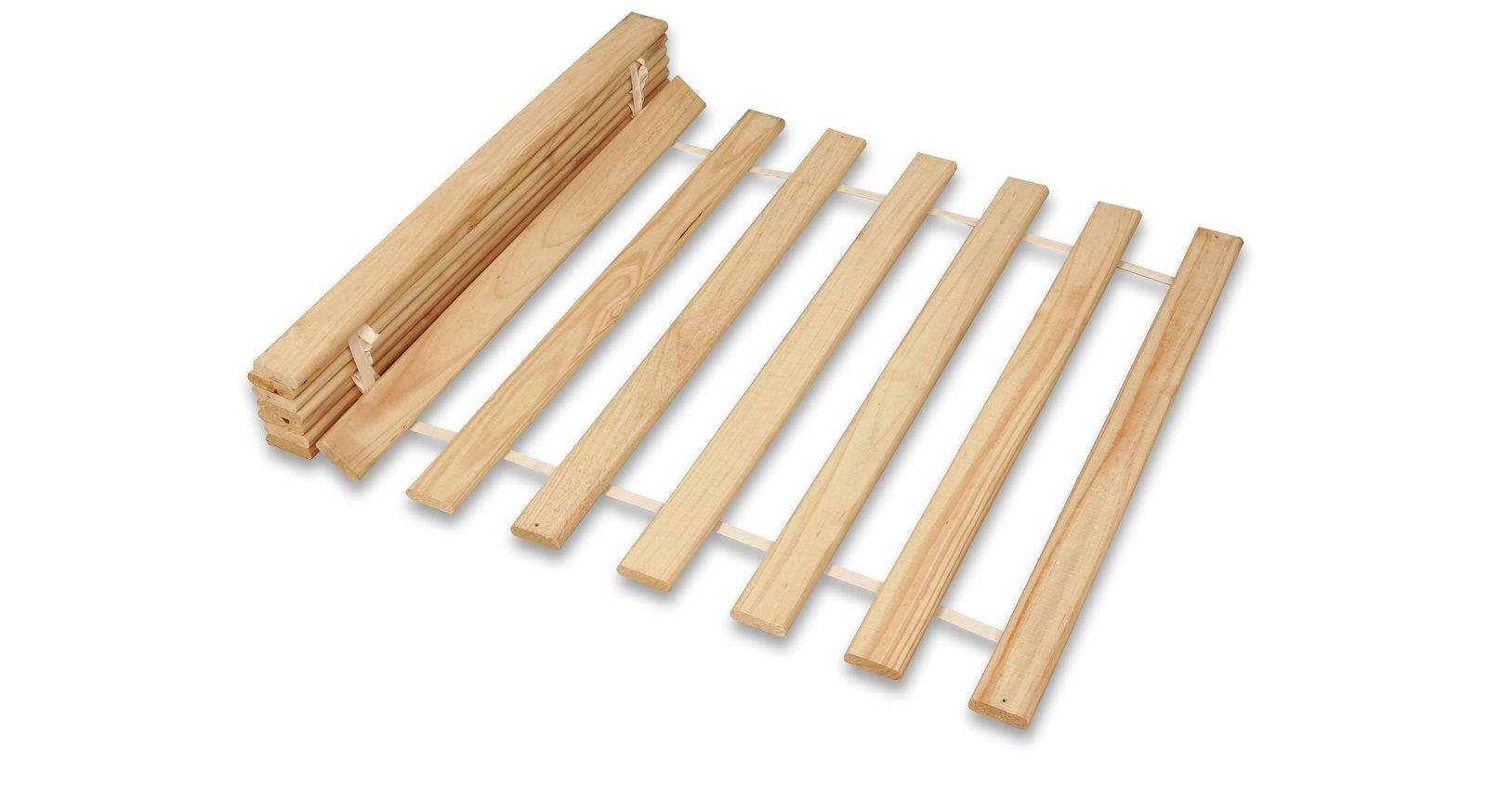 Roll-Lattenrost Jack mit 15 Holzleisten