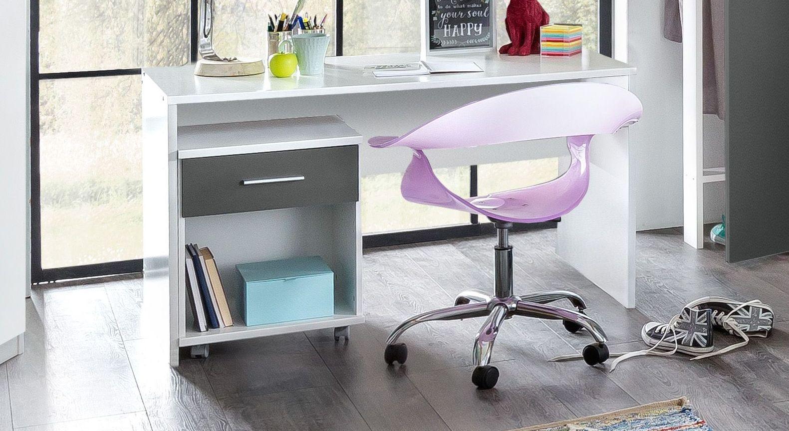 Passender Schreibtisch zum Rollcontainer Facundo