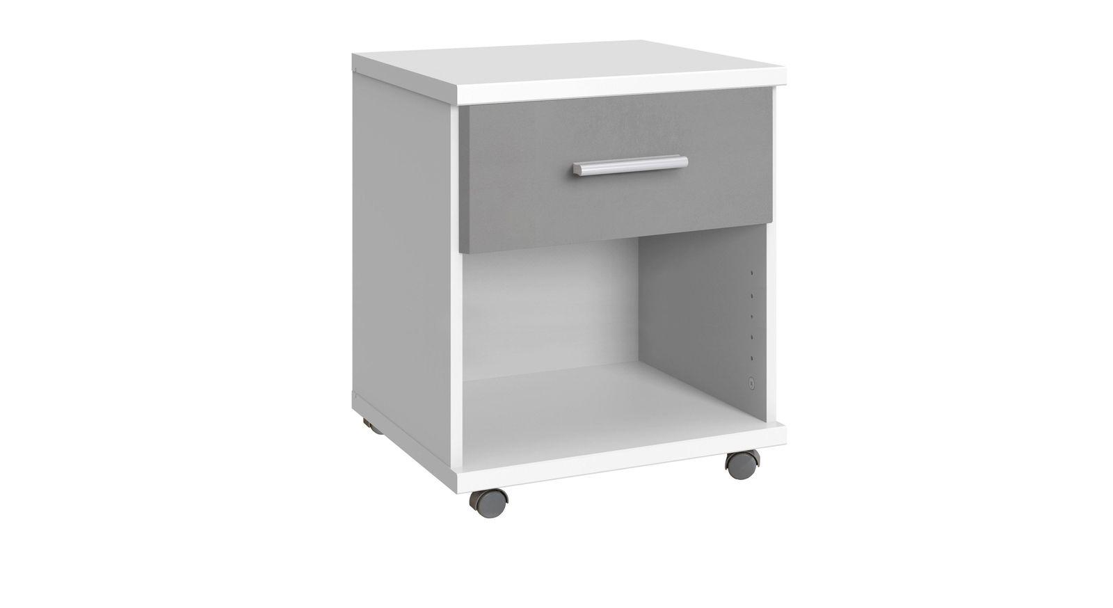 Rollcontainer Porvenir mit leichtgängiger Schublade