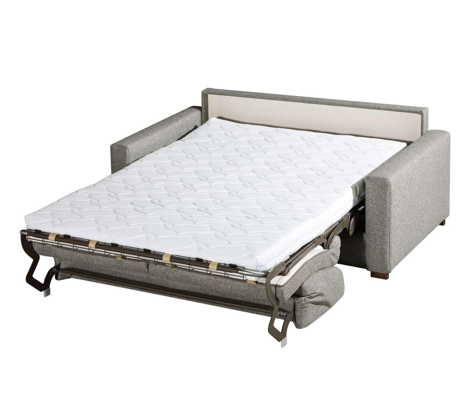 2 sitzer schlafsofa mit express bettfunktion und matratze conda. Black Bedroom Furniture Sets. Home Design Ideas